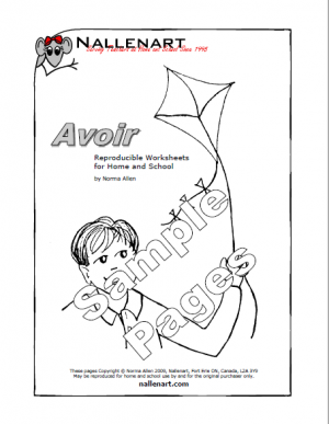 Nallenart avoir sample pages
