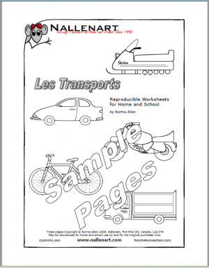 Transports Sample Pages