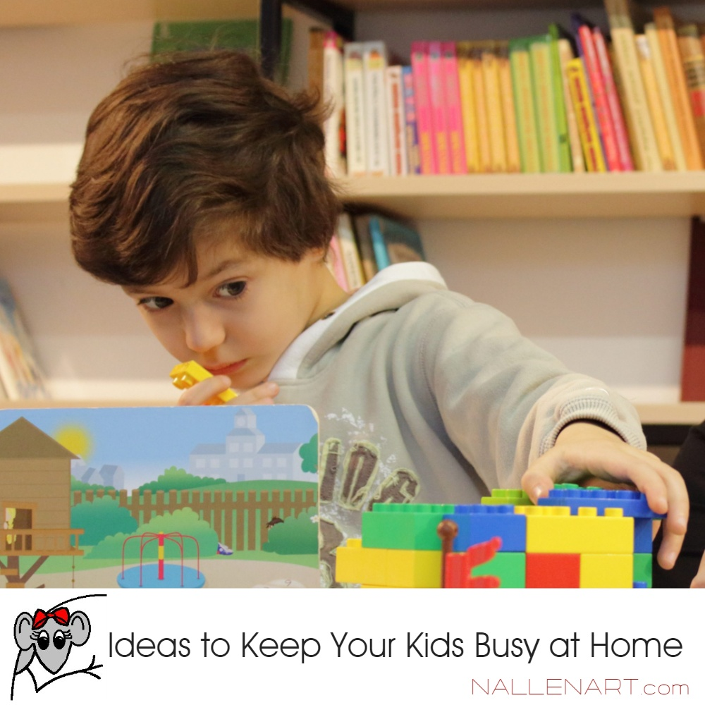 keep your kids busy at home