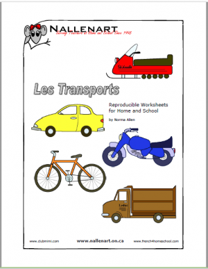 les transports workpages